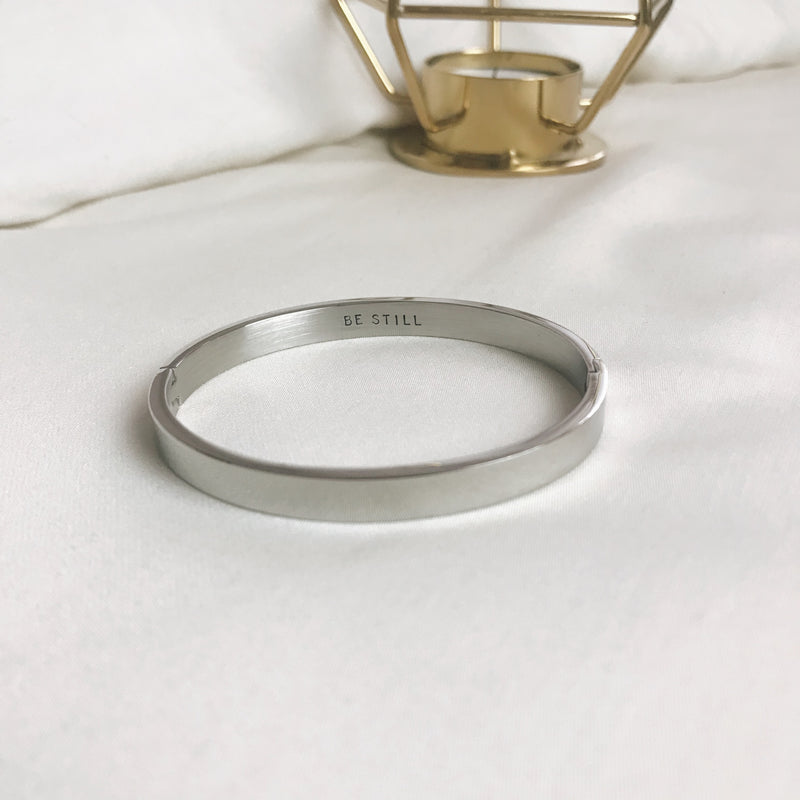 Sample Sale: BE STILL Hope Bangle