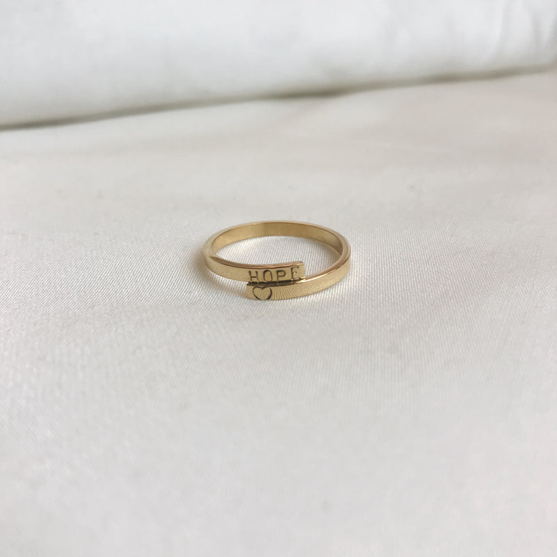 Sample Sale: HOPE ♥ Remembrance Ring
