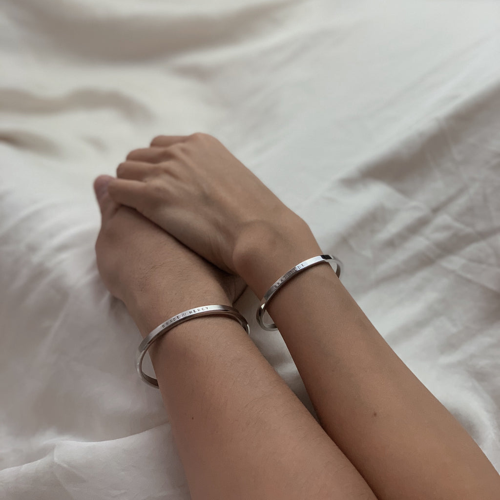Classic Truth Cuff + Honest Cuff (Couple Bundle)