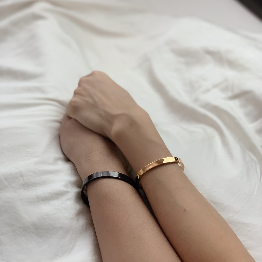 Hope Bangle + Warrior Bangle (Couple Bundle)