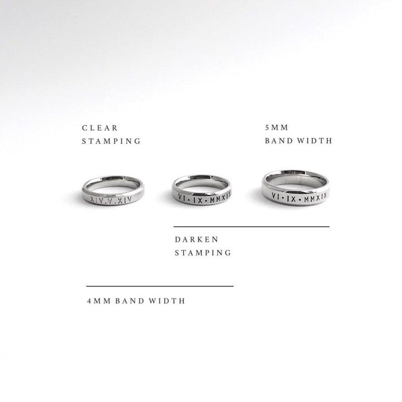 Lumière Classic Bevelled Ring (1 Ring)