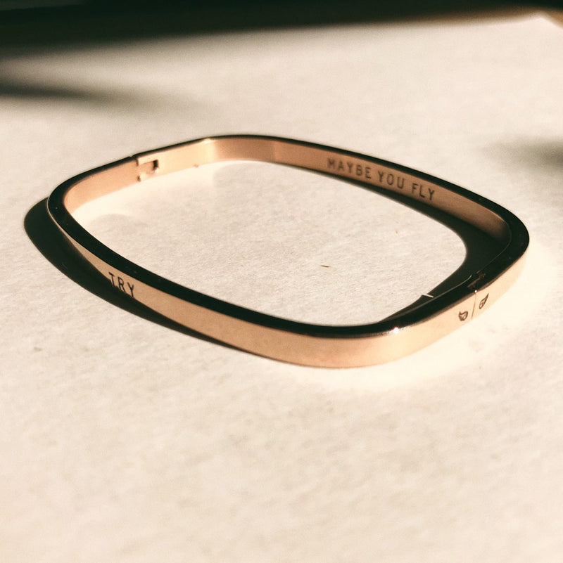 Faith Square Bangle