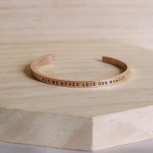 May We Never Lose Our Wonder Cuff
