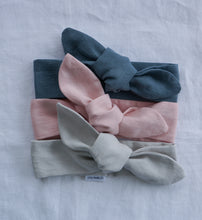 CHILDREN'S FRENCH LINEN TOPKNOT