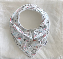 COTTON BABY BANDANA BIB