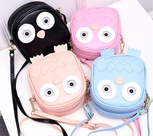 Fashion Owl Mini Purse Crossbody Shoulder Bags