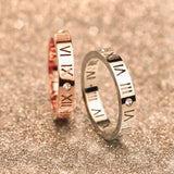 Luxury Brand Celebrity Fashion Jewelry Ceramic Titanium Steel Couple Rings