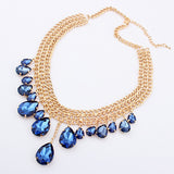 Luxury Collier Crystal Necklace