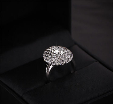 Fashion Crystal Full Rhinestone Bella Inspired Wedding Rings