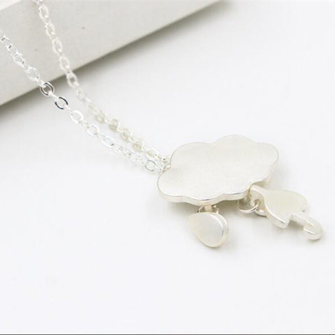 Beautiful Cloud Umbrella Cute Necklaces