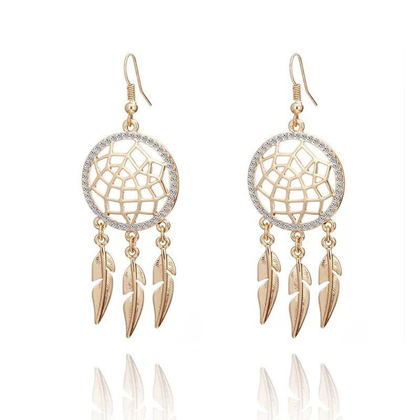 Crystal Bohemia Style Earrings
