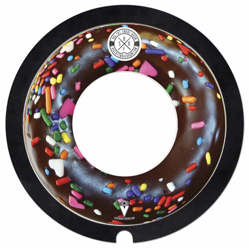 chocolate donut big fat snare drum steves donut model