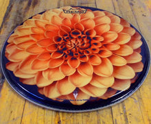 Dahlia Flower Drum Head designed by Visionary Drum and made by Remo.