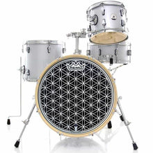 "22"" Flower of Life graphic drum head"