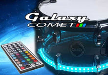 Galaxy Comet drum lights on snare