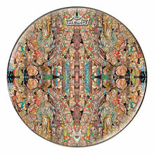 Interdimensional Friend Design Remo-Made Graphic Drum Head by Visionary Drum; abstract drum art