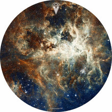 Nebula space graphic art drum skin decal by Visionary Drum