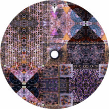 Particle and Wave design graphic drum skin by Visionary Drum; geometric drum art