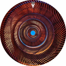 Passage design graphic drum skin by Visionary Drum; abstract design drum art