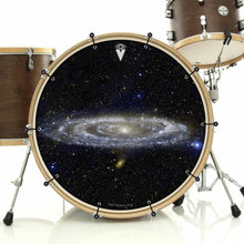 Andromeda Galaxy Graphic Drum Head Art - All Styles and Sizes