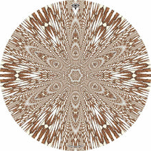 Abstract butterfly mandala drum skin art decal