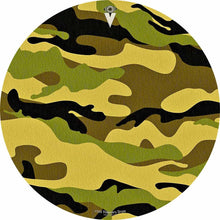"""Camo"" camouflage design graphic drum skin by Visionary Drum"