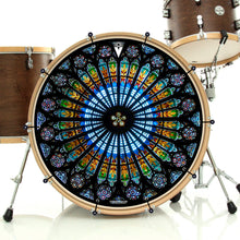 Cathedral Glass Graphic Drum Head Art - All Styles and Sizes
