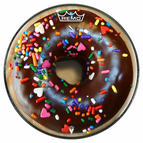 chocolate donut remo drum head