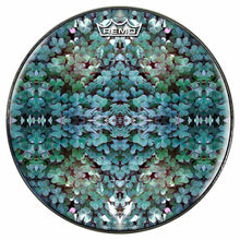 Clover Patch Design Remo-Made Graphic Drum Head by Visionary Drum