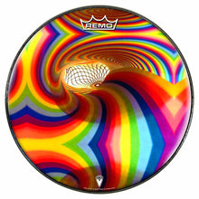 Color Portal Design Remo-Made Graphic Drum Head by Visionary Drum