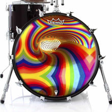 Color Portal Graphic Drum Head Art - All Styles and Sizes