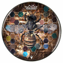 Hive Mind Graphic Drum Head Art - All Styles and Sizes - Art by Danny Stephens