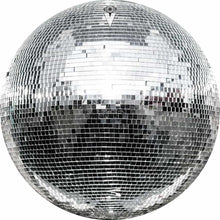 Disco Ball design graphic drum skin by Visionary Drum; vintage drum art