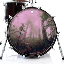 Enchanted Forest drum skin on bass drum