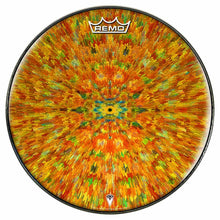 Extruded Groove Design Remo-Made Graphic Drum Head by Visionary Drum