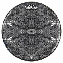 Eye Maker Design Remo-Made Graphic Drum Head by Visionary Drum; mandala drum art