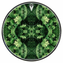 Fern Form Graphic Drum Head Art - All Styles and Sizes