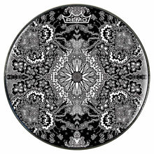 Growing Sun Design Remo-Made Graphic Drum Head by Visionary Drum; abstract drum art