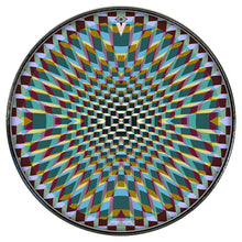 Holotropic geometric design graphic Visionary Drum Head