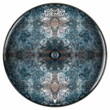 Jupiter Cloud Design Remo-Made Graphic Drum Head by Visionary Drum; space drum art