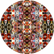 Majestic design graphic drum skin by Visionary Drum; abstract drum art