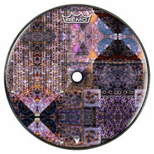 Particle and Wave Design Remo-Made Graphic Drum Head by Visionary Drum; geometric drum art