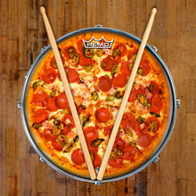 "Pepperoni Pizza 14"" Graphic Drum Head  - Powered by Remo"