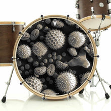 Pollen Graphic Drum Head Art - All Styles and Sizes