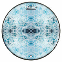 Splash Design Remo-Made Graphic Drum Head by Visionary Drum; water drum art