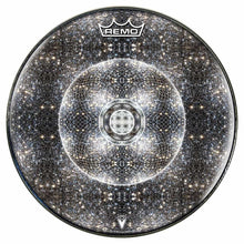 Stargate Portal Design Remo-Made Graphic Drum Head by Visionary Drum; abstract sky drum art