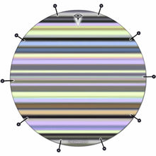 Stripes Graphic Drum Head Art - All Styles and Sizes