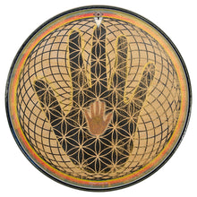 Magical hand graphic sacred geometry Visionary Drum head