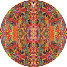 psychedelic, colorful drum skin by visionary drum