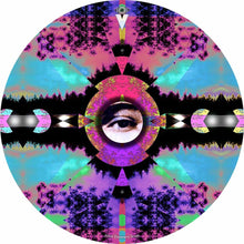 Visionary Expansion design graphic drum skin by Visionary Drum; abstract drum art